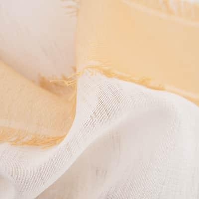 Tenda Filtrante Terentine giallo occhielli 140 x 280 cm