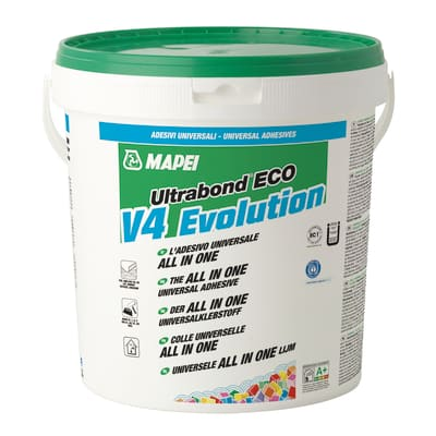 Colla Ultrabond Eco MS V4 Evolution MAPEI beige fustino