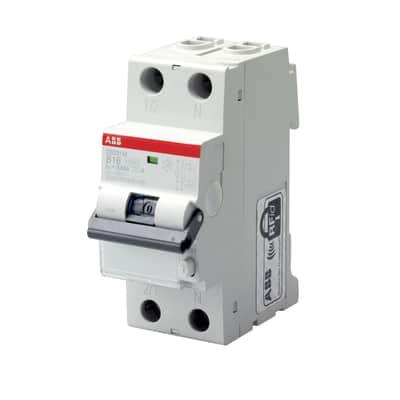 Interruttore magnetotermico differenziale ABB LDS1LC32AC30 4 poli 32A AC 2 moduli 230V