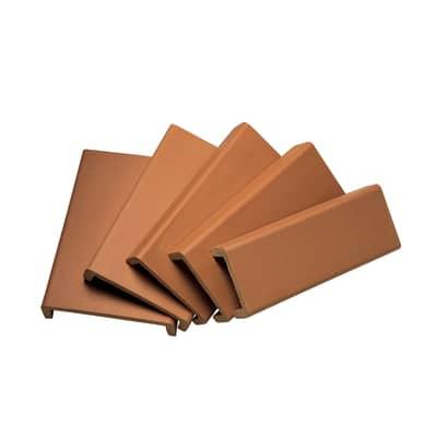 Materiale di riempimento Coprimuro naturale rosso 34.5 cm x 30 mm Sp 6 cm