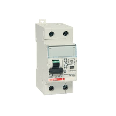 Interruttore magnetotermico differenziale GC8813AC10 4 poli 10 A