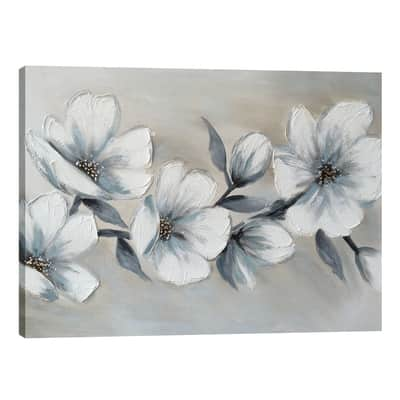 Quadro dipinto a mano Blooming 120x90 cm