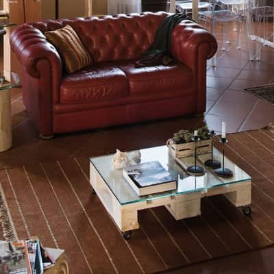 Pallet in legno trattato 80 x 60 cm