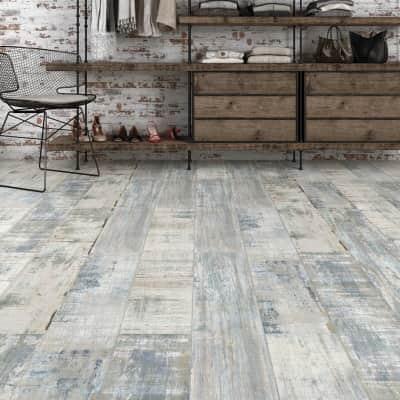 Pavimento laminato Smeraldo Sp 7 mm grigio / argento