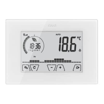 Termostato VIMAR Touch screen WiFi 02907 bianco