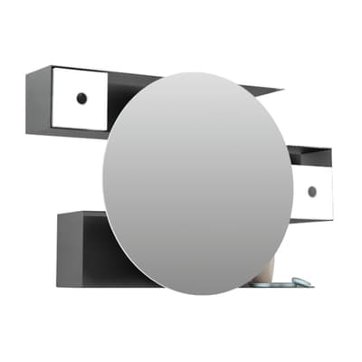 Specchio contenitore senza luce Labirinth L 95 x P 14 x H 60 cm