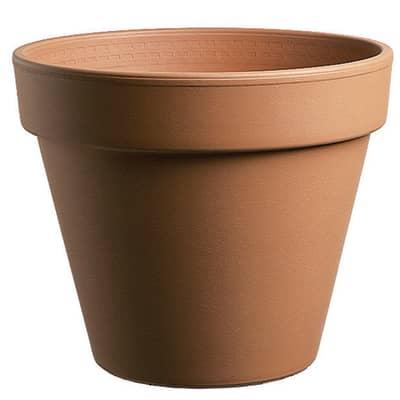 Vaso Comune in terracotta colore cotto H 30.4 cm, Ø 35 cm