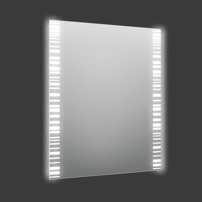 Specchio con illuminazione integrata bagno rettangolare Trattix L 50 x H 70 cm