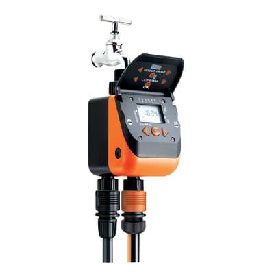 Programmatore da rubinetto batteria CLABER Aquadue Duplo 2 vie