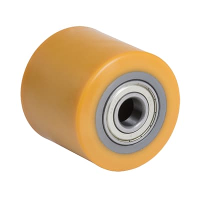 Ruote in poliuretano giallo Ø 80 cm