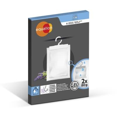 Assorbitore di umidità EQUATION lavanda 2 x 80 gr
