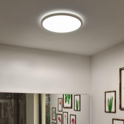 Plafoniera moderno Lano LED integrato bianco D. 29.4 cm 29.4x29.4 cm, INSPIRE