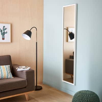 Specchio a parete rettangolare Pure bianco 40x160 cm INSPIRE