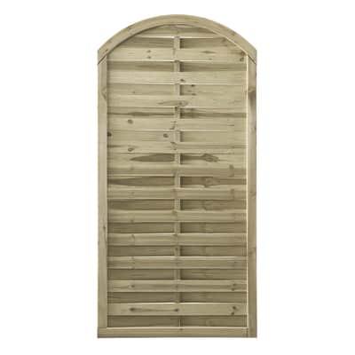 Pannello esterno dritto in legno Diago 90 x 180 cm