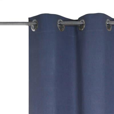 Tenda INSPIRE Jeanne blu occhiello 135 x 280 cm