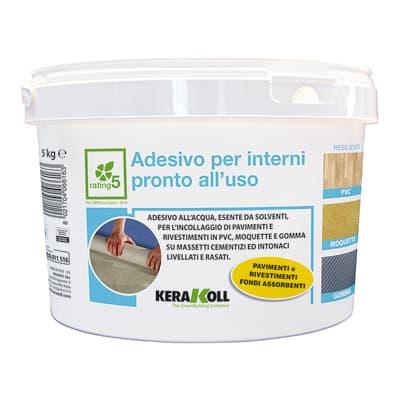 Adesivo di fissaggio ADESIVO INTERNI PRONTO USO 5KG beige 5 KG