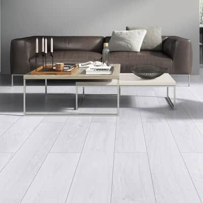 Pavimento laminato Sp 8 mm grigio / argento