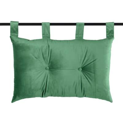 Cuscino Testata letto Danae verde 70x70 cm