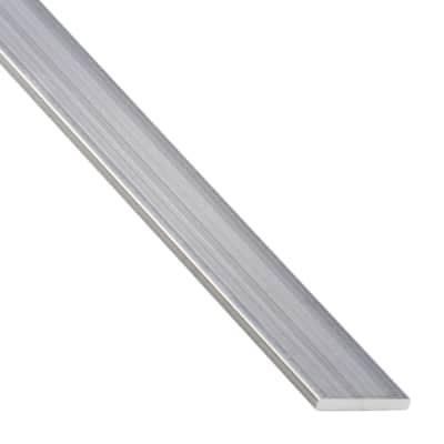 Profilo piatto STANDERS in alluminio 2.6 m x 5 cm