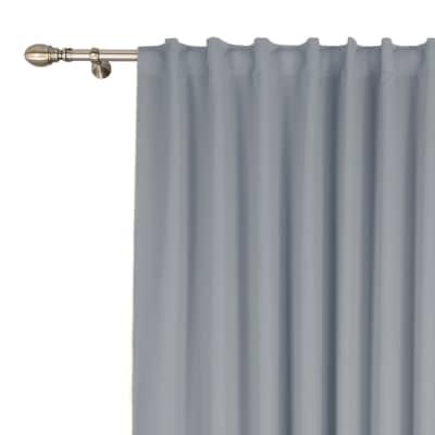 Tenda INSPIRE Carol grigio arricciatura 200 x 280 cm