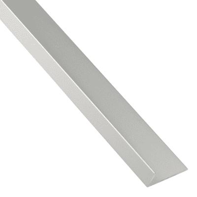 Profilo a l STANDERS in alluminio 1 m x 3 cm grigio
