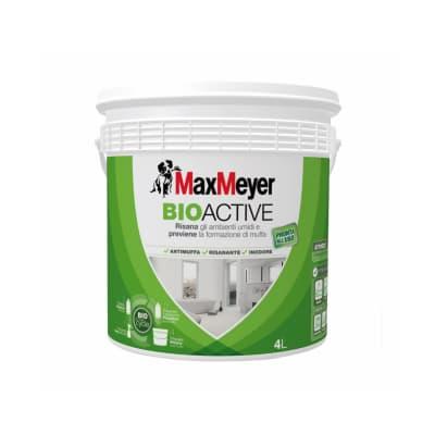 Pittura murale  antimuffa Bioactive MaxMeyer 4 L bianco