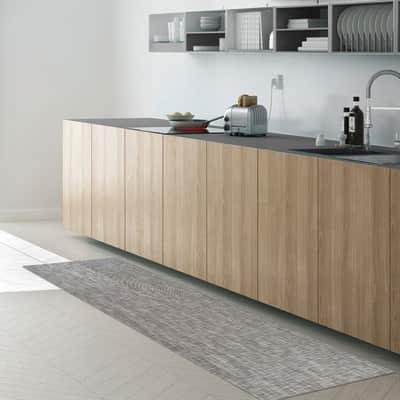 Tappeto Industry unito , grigio chiaro, 50x280 cm