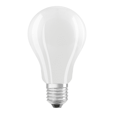 Lampadina LED filamento, E27, Goccia, Opaco, Luce calda, 17.5W=2500LM (equiv 150 W), 360° , OSRAM