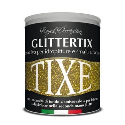 Additivo TIXE GLITTER UNIVERSALE 0.25 L argento 3d