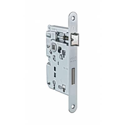 Serratura a incasso patent per porta per interni, entrata 5 cm, interasse 70 mm sinistra e destra