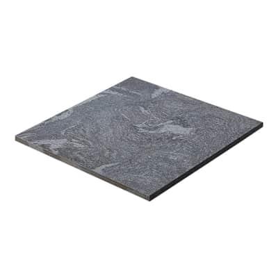Gres porcellanato colosseo grigioni resistente al freddo 60 x 60 cm grigio / argento  0.72 mq
