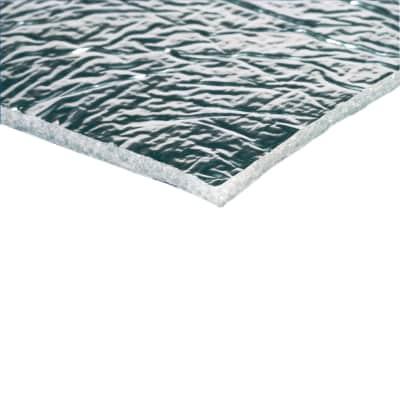 Isolante termoriflettente AXTON Reflexkit in imbottitura in alluminio + poliestere 5 x 8 m, Sp 0,75 mm