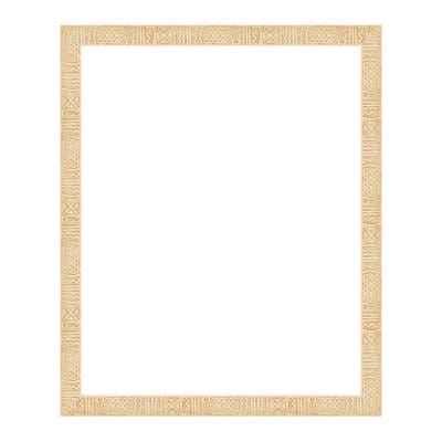 Cornice Etnico naturale per foto da 40x50 cm