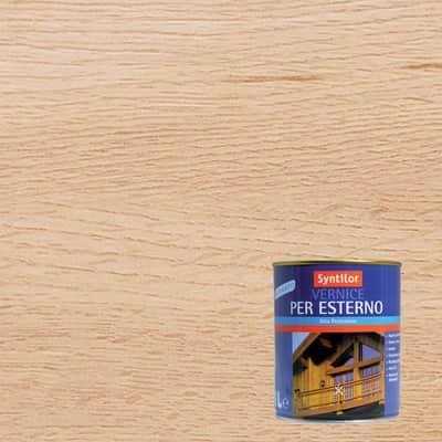 Vernice per legno da esterno liquido SYNTILOR 1 L incolore satinato