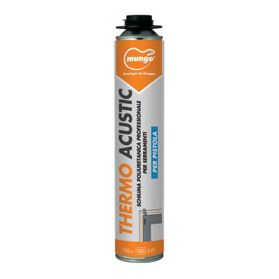 Schiuma poliuretanica Thermoacustic bianco 750 ml