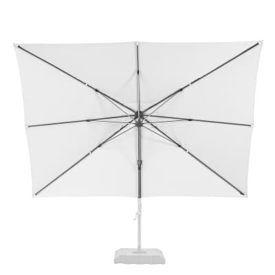 Telo di ricambio ombrellone sonora NATERIAL colore bianco 282 x 391 cm