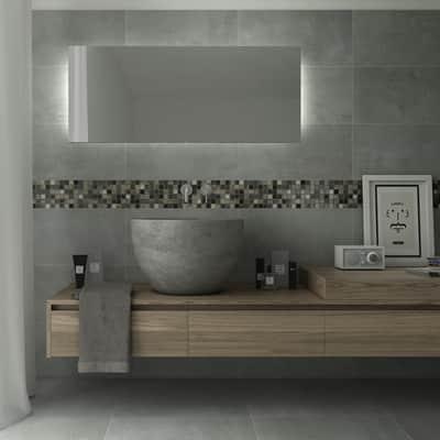 Mosaico Hydre Greyin H 30 x L 30 cm multicolor