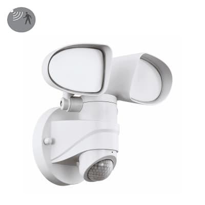 Proiettore LED integrato con sensore di movimento PAGINO in policarbonato, bianco, 6W 1800LM IP44 EGLO