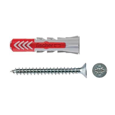 Tassello universale FISCHER Duopower, L 25 mm, Ø 6 mm, 18 pezzi