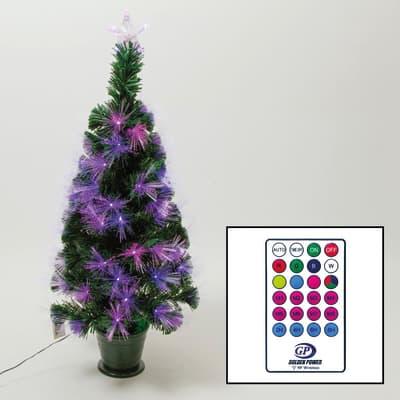 Albero di natale artificiale multicolore H 100 cm,