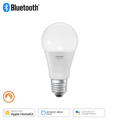 Lampadina smart lighting LED, WIFI, E27, Goccia, Opaco, Luce calda, 60W=800LM (equiv 60 W), 240° , LEDVANCE