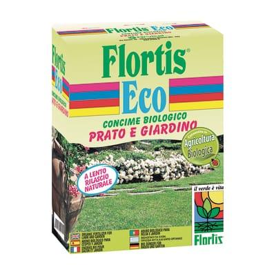 Concime per il prato granulare FLORTIS Eco 1,5 Kg