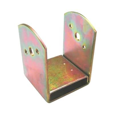 Supporto per palo Staffa in acciaio L 7x H 12