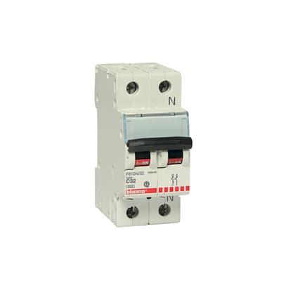 Interruttore magnetotermico BTICINO FC810NC32 1P +N 32A C 2 moduli