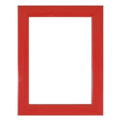 Cornice INSPIRE Bomber rosso per foto da 21x29.7 (A4) cm