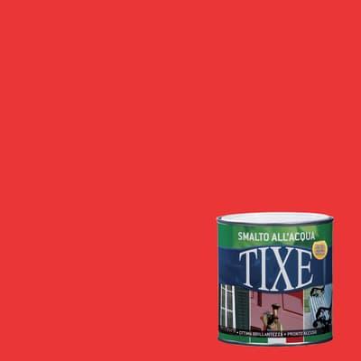 Smalto TIXE base acqua rosso 0,125 L