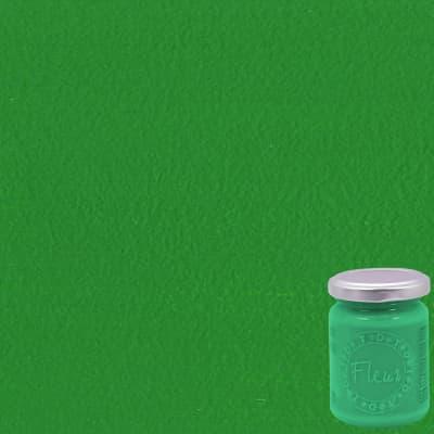 Colore acrilico FLEUR Chromium oxide green 0.13 L verde opaco