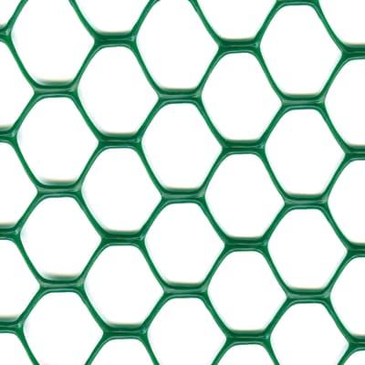 Rete plastica EXAGON, L 3 x H 1 m