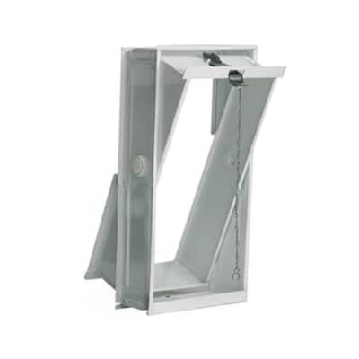 Finestra del blocco di vetro 2 vetri liscio L 21.6 x H 42.5 x Sp 8.8 cm2 pezzi