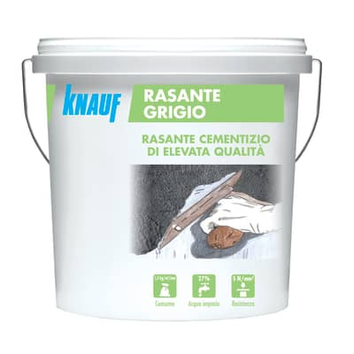 Rasante in pasta KNAUF base cemento 5 kg